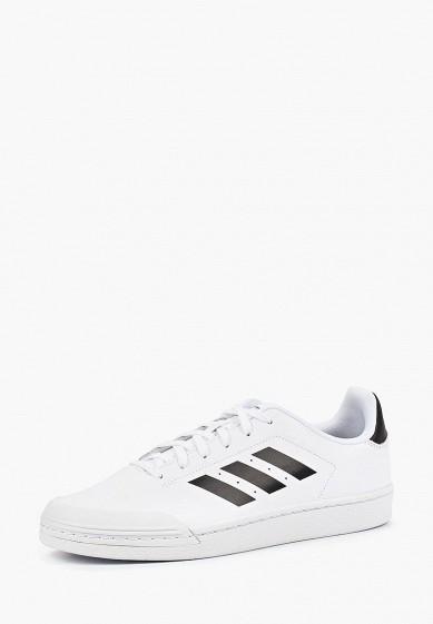 Купить Кеды adidas - цвет: белый, Индонезия, AD002AMCDJI0