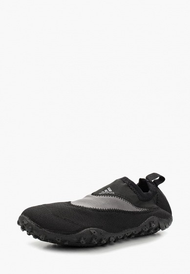 Купить Слипоны adidas - цвет: черный, Индонезия, AD002AUALVZ5