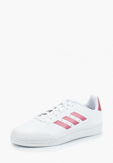 Купить Кеды adidas - цвет: белый, Индонезия, AD002AWCDKD9