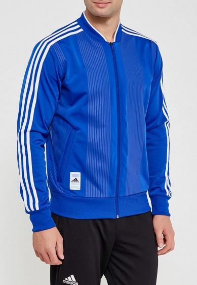 Купить Олимпийка adidas - цвет: синий, Китай, AD002EMALTE8