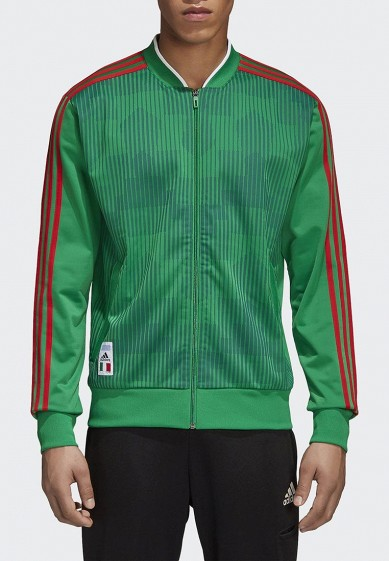 Купить Олимпийка adidas - цвет: зеленый, Китай, AD002EMALTE9