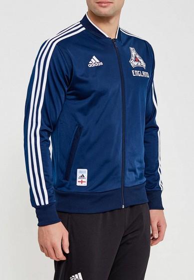 Купить Олимпийка adidas - цвет: синий, Китай, AD002EMALTF2