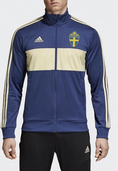 Купить Олимпийка adidas - цвет: синий, Вьетнам, AD002EMALTH6