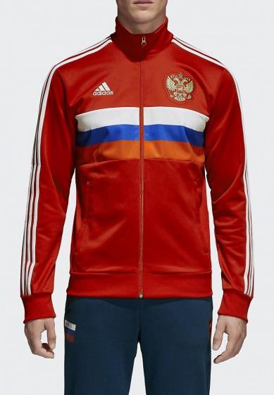Купить Олимпийка adidas - цвет: красный, Вьетнам, AD002EMALTI7