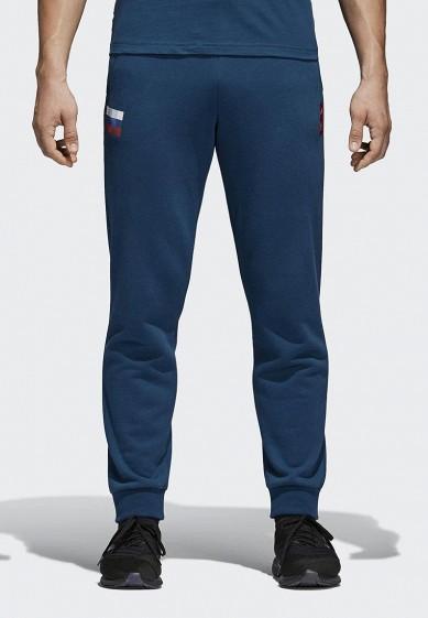 Купить Брюки спортивные adidas - цвет: синий, Китай, AD002EMALUE4