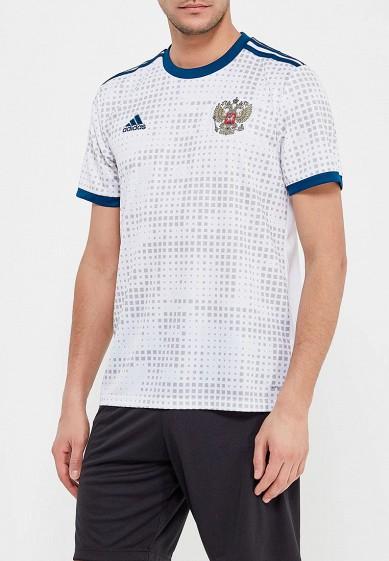 Купить Футболка спортивная adidas - цвет: белый, Вьетнам, AD002EMALUL4