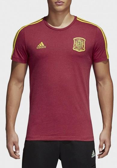 Купить Футболка adidas - цвет: бордовый, Китай, AD002EMALUN7