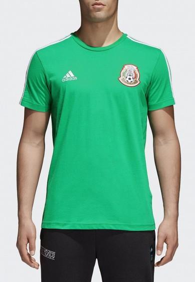 Купить Футболка adidas - цвет: зеленый, Китай, AD002EMALUN9