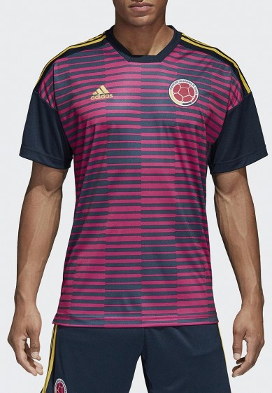 Купить Футболка спортивная adidas - цвет: розовый, Китай, AD002EMALUO3