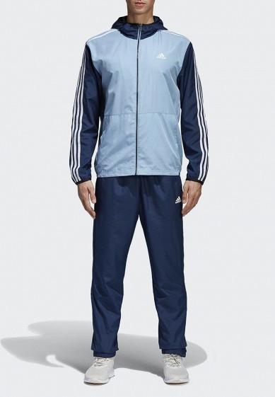 Купить Костюм спортивный adidas - цвет: синий, Бангладеш, AD002EMAMAZ6