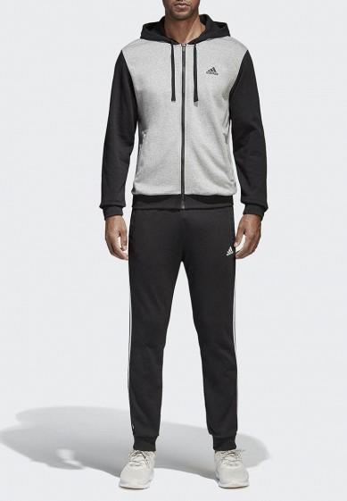 Купить Костюм спортивный adidas - цвет: черный, Вьетнам, AD002EMAMAZ7