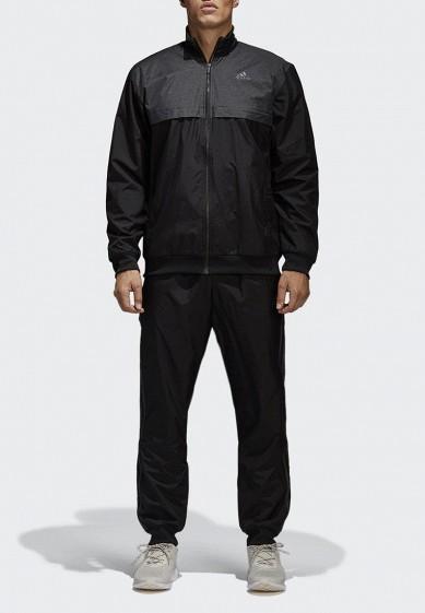 Купить Костюм спортивный adidas - цвет: черный, Камбоджа, AD002EMAMAZ9