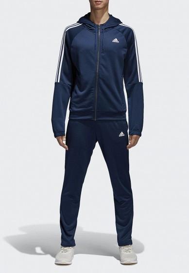 Купить Костюм спортивный adidas - цвет: синий, Бангладеш, AD002EMAMBA1