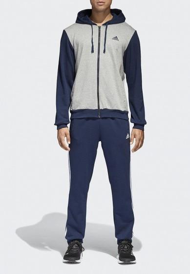 Купить Костюм спортивный adidas - цвет: синий, Вьетнам, AD002EMAMBA2