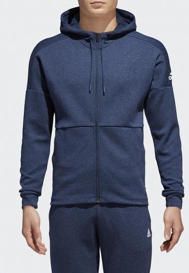 Купить Толстовка adidas - цвет: синий, Китай, AD002EMAMBI0