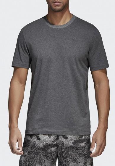 Купить Футболка adidas - цвет: серый, Индонезия, AD002EMAMBI8