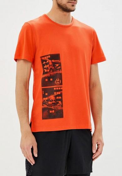 Купить Футболка спортивная adidas - цвет: красный, Камбоджа, AD002EMANHY5