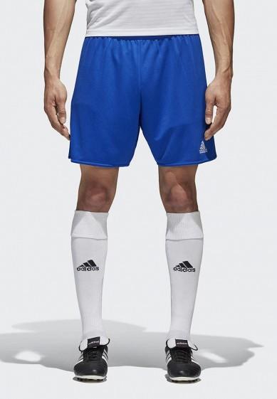 Купить Шорты спортивные adidas - цвет: синий, Камбоджа, AD002EMCDFU4