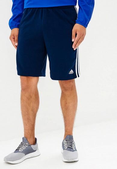 Купить Шорты спортивные adidas - цвет: синий, Китай, AD002EMCDFV7