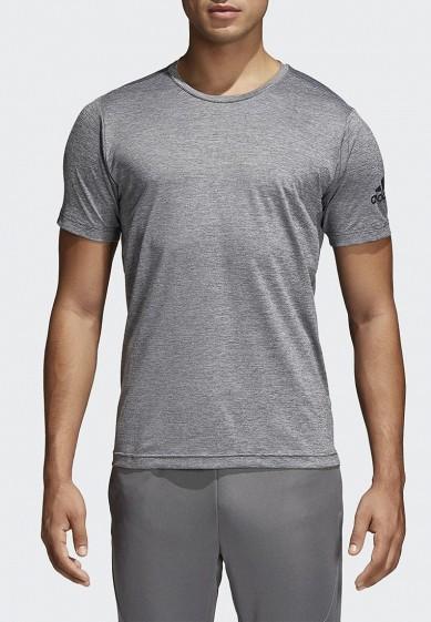 Купить Футболка спортивная adidas - цвет: серый, Филиппины, AD002EMCDFY5