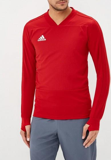 Купить Лонгслив спортивный adidas - цвет: красный, Камбоджа, AD002EMCDFZ1