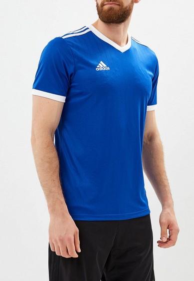 Купить Футболка спортивная adidas - цвет: синий, Камбоджа, AD002EMCDFZ8