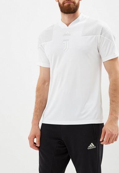 Купить Футболка спортивная adidas - цвет: белый, Камбоджа, AD002EMCDGJ6