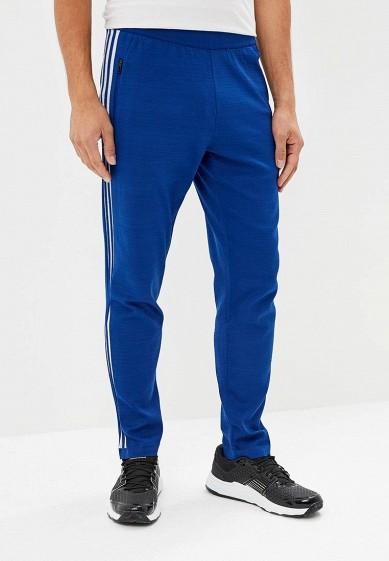 Купить Брюки спортивные adidas - цвет: синий, Индия, AD002EMCDGO7