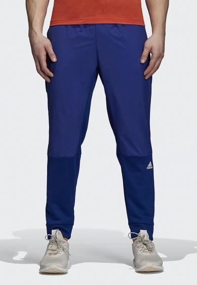 Купить Брюки спортивные adidas - цвет: синий, Камбоджа, AD002EMCDGO9