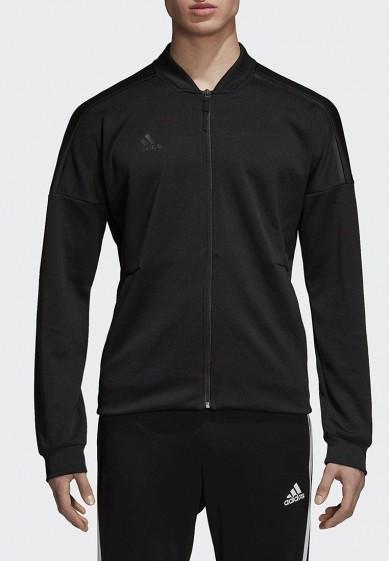 Купить Олимпийка adidas - цвет: черный, Индонезия, AD002EMCDGR0