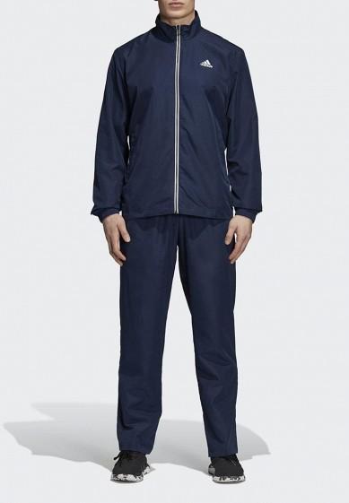 Купить Костюм спортивный adidas - цвет: синий, Бангладеш, AD002EMCDHB3