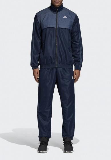 Купить Костюм спортивный adidas - цвет: синий, Камбоджа, AD002EMCDHB5