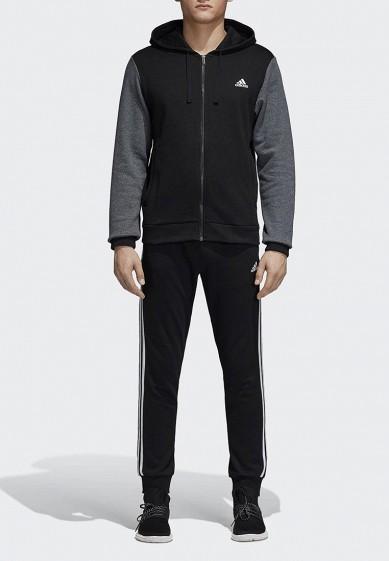 Купить Костюм спортивный adidas - цвет: черный, Индонезия, AD002EMCDHB7