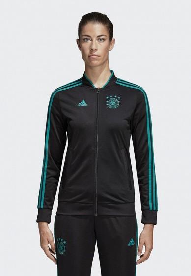 Купить Олимпийка adidas - цвет: черный, Филиппины, AD002EWALUV7