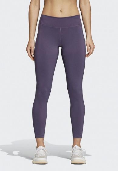 Купить Леггинсы adidas - цвет: фиолетовый, Индонезия, AD002EWAMCM2