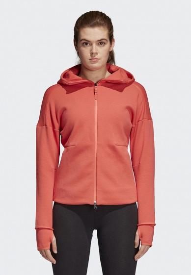 Купить Толстовка adidas - цвет: красный, Индонезия, AD002EWAMCN4