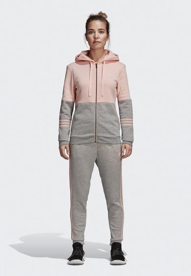 Купить Костюм спортивный adidas - цвет: серый, Камбоджа, AD002EWCDHG2