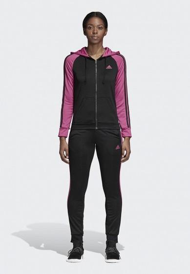 Купить Костюм спортивный adidas - цвет: черный, Бангладеш, AD002EWCDHK1