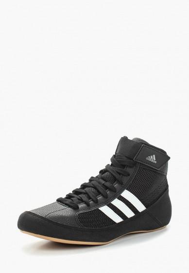 Купить Борцовки adidas Combat - цвет: черный, Китай, AD015AUBEAA6