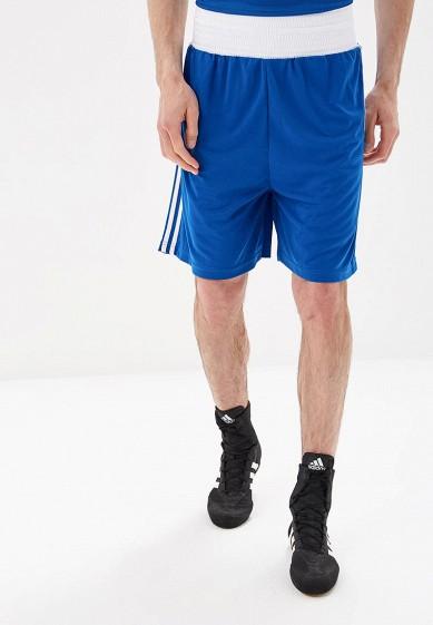 Купить Шорты спортивные adidas Combat - цвет: синий, Пакистан, AD015EMBOIC9