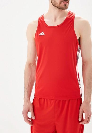 Купить Майка спортивная adidas Combat - цвет: красный, Пакистан, AD015EMBOID2