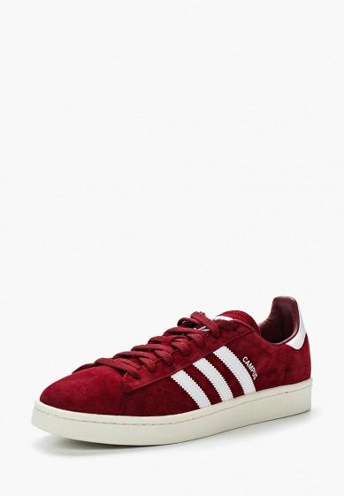 Купить Кеды adidas Originals - цвет: бордовый, Вьетнам, AD093AMUNQ92