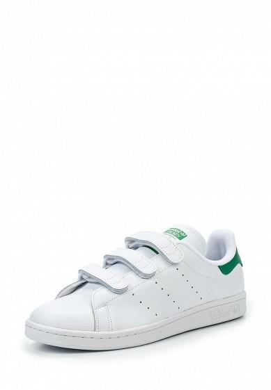 Купить Кеды adidas Originals - цвет: белый Китай AD093AMUNR09