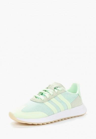 Купить Кроссовки adidas Originals - цвет: зеленый, Индия, AD093AWALPU4