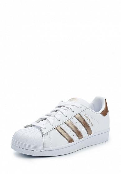 Купить Кеды adidas Originals - цвет: белый Индонезия AD093AWALQA0