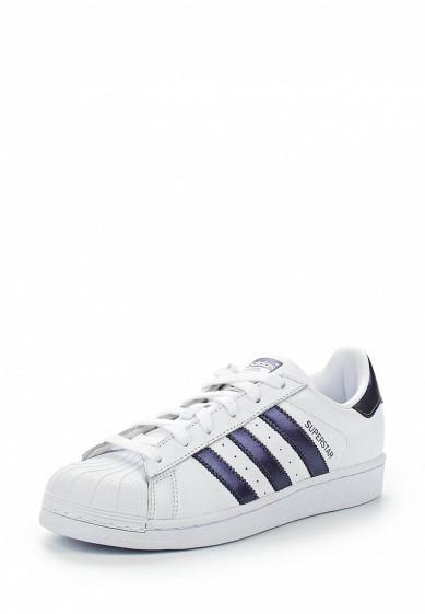 Купить Кеды adidas Originals - цвет: белый Индонезия AD093AWALQA1
