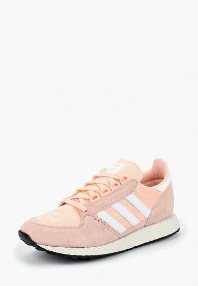 Купить Кроссовки adidas Originals - цвет: розовый, Китай, AD093AWCDAL5