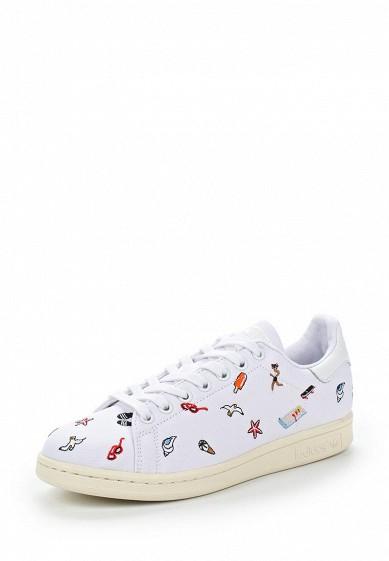 Купить Кеды adidas Originals - цвет: белый Китай AD093AWUNT78