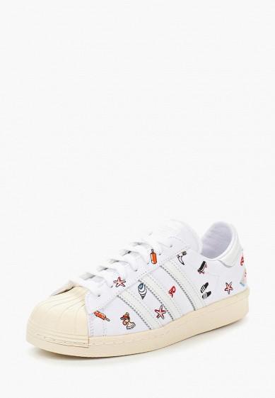 Купить Кеды adidas Originals - цвет: белый, Индонезия, AD093AWUNT89