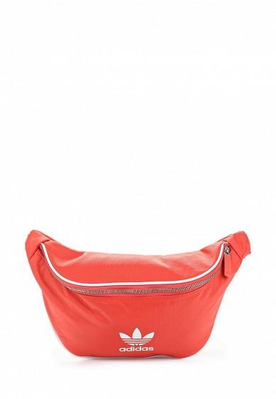 Купить Сумка поясная adidas Originals - цвет: красный, Вьетнам, AD093BUALQU4